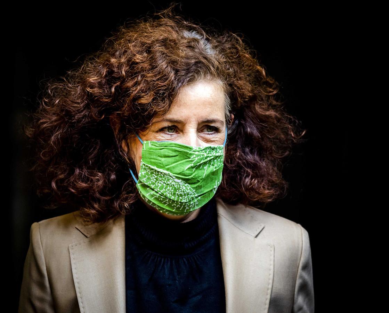 Ingrid van Engelshoven, minister van Onderwijs, Cultuur en Wetenschappen.
