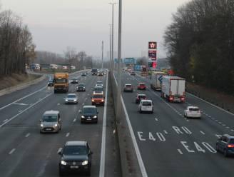 E40 richting Gent gaat twee nachten dicht tussen Groot-Bijgaarden en Ternat