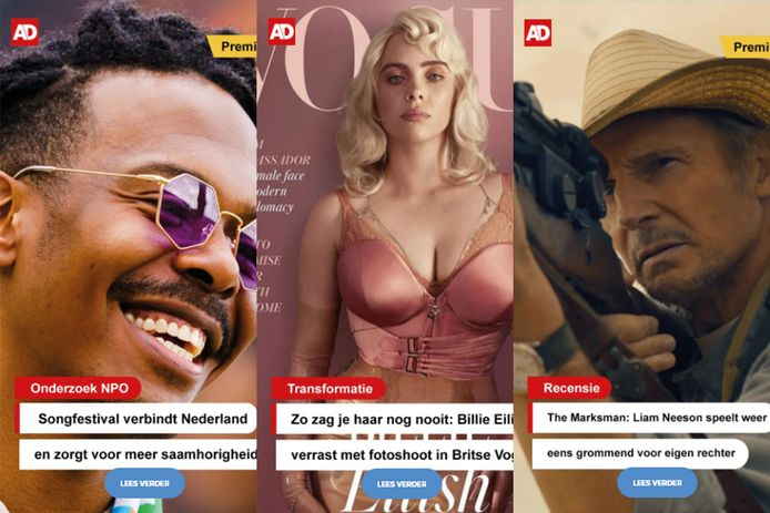 Nieuw in de AD app: Stories