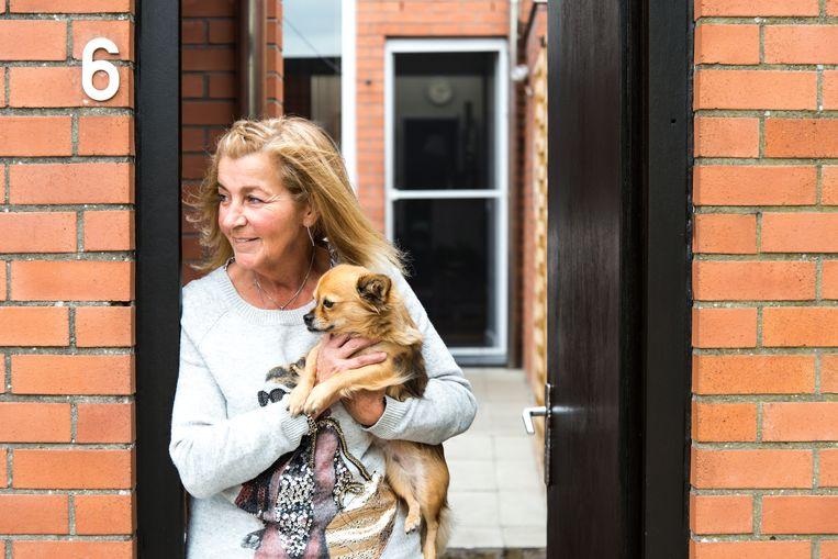 De sociale woning van Annie Maertens werd getekend door een gereputeerd architectenbureau.