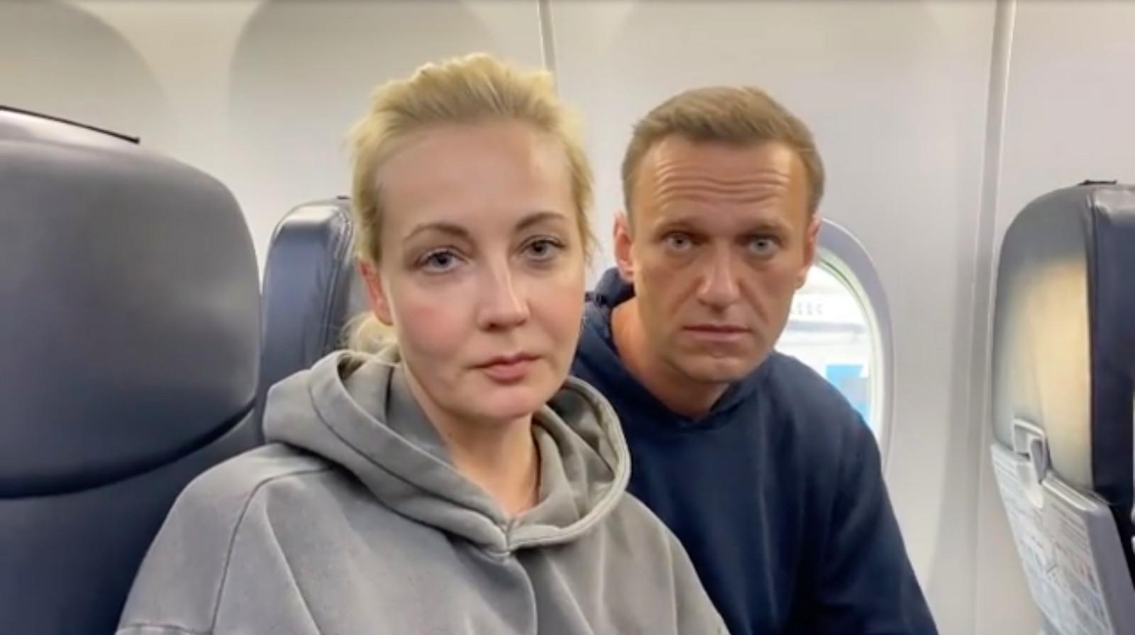 Yulia en Alexei Navalny.