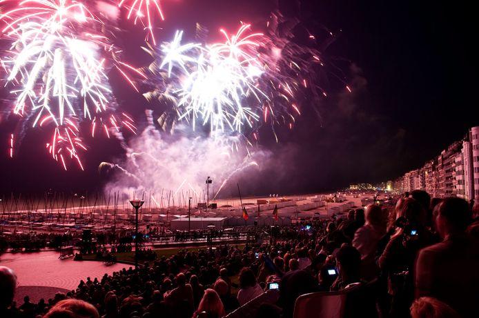 Ook het Vuurwerkfestival verdwijnt van de kalender.