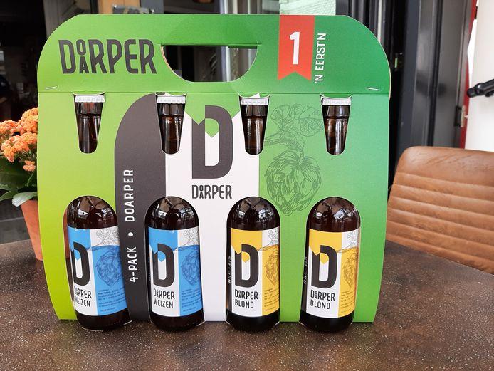 Het nieuwe Doarper Bier.