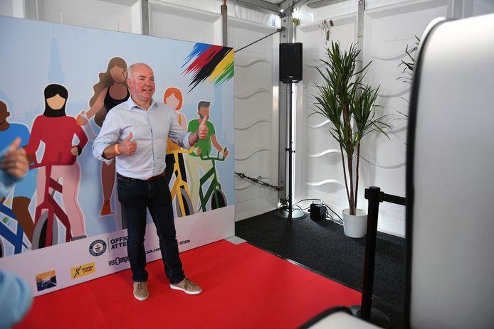 Johan Geleyns is tevreden dat de internationale uitstraling van Leuven groter is geworden dankzij het WK Wielrennen.