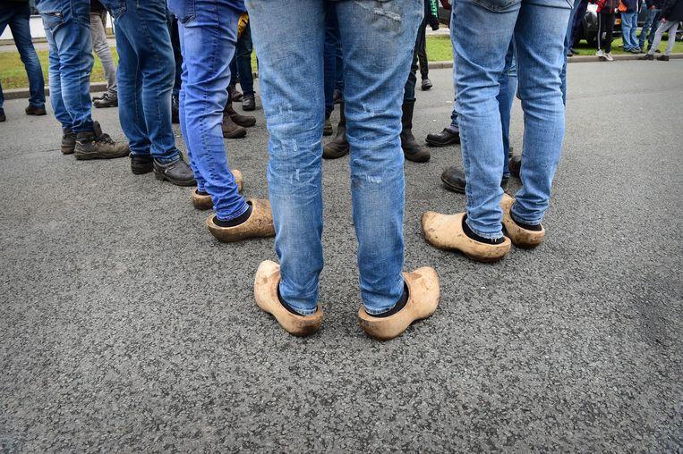 In juli 2020 protesteerden boeren nog voornamelijk tegen stikstofmaatregelen, zoals de veevoermaatregel  van minister Schouten. Beeld Marcel van den Bergh