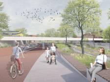 Tunnel bij station Woerden verboden terrein voor auto, alleen voetganger en fietser straks nog welkom