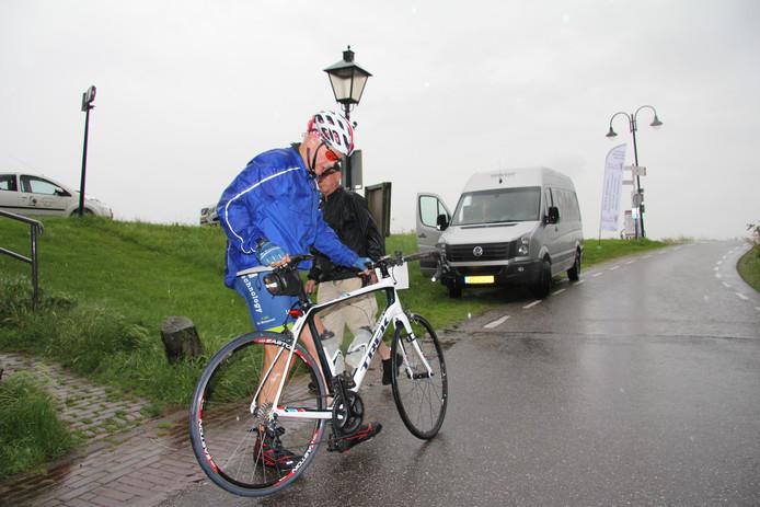 Mart de Swart gaat weer op weg naar het volgende steunpunt