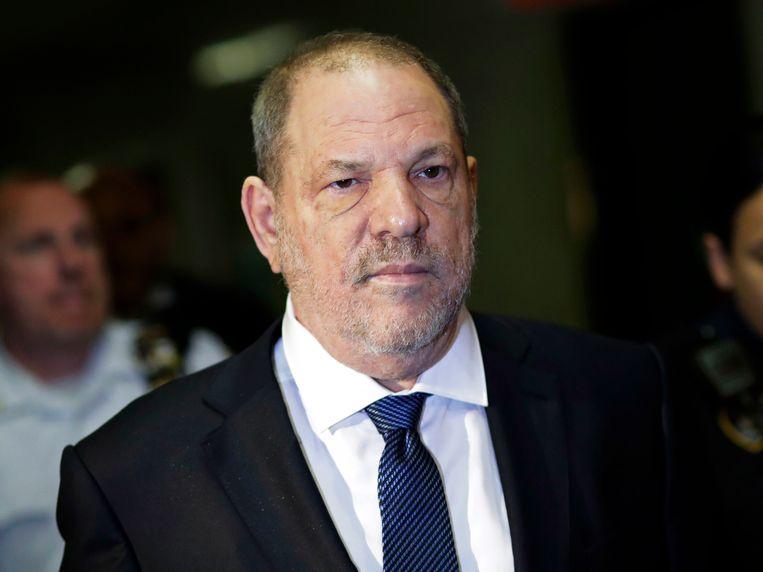 Filmproducent Harvey Weinstein. Beeld AP