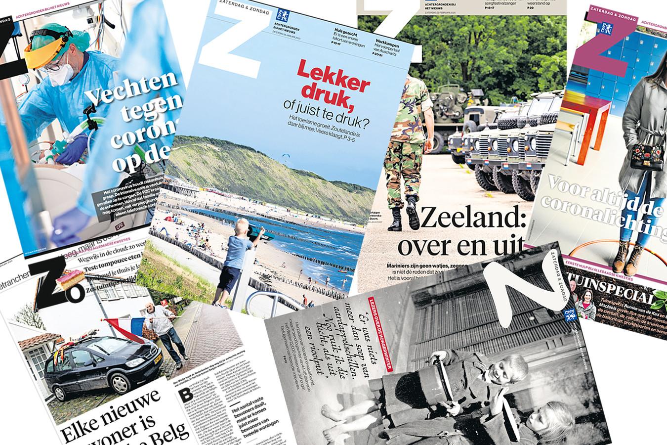 In de zaterdag-bijlage Z verschijnen de verhalen waar de redactie extra tijd en aandacht aan heeft kunnen besteden.