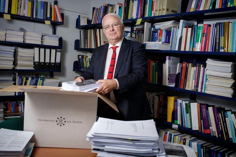 Criminoloog Cyrille Fijnaut. Beeld Hollandse Hoogte / Dolph Cantrijn