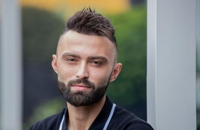 FC Jeugd-keeper Özkan Yilmaz.