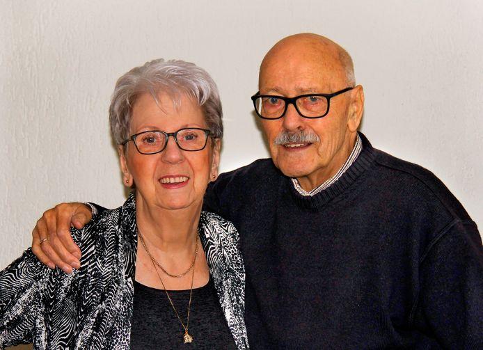 Ria en Rudolf Gras zijn zestig jaar getrouwd.