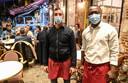 Tony (30) en Wilfried (30) van restaurant Mussel Monger.