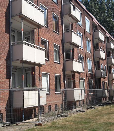 Stadlander stut uit voorzorg balkons en galerijen in Bergen op Zoom en Steenbergen