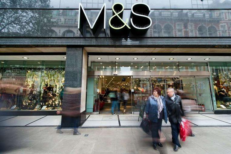 Een filiaal van Marks & Spencer in het centrum van Londen. Beeld afp