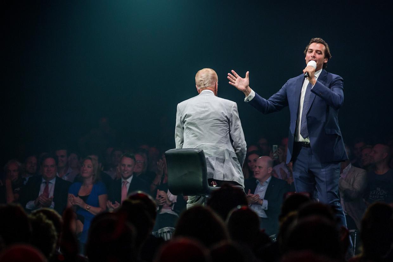 Thierry Baudet bij de aftrap van het politieke jaar in september 2019. Beeld Jean-Pierre Jans/HH