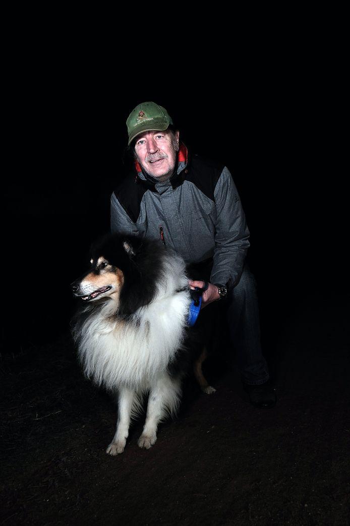 Willem Terhorst: ,,Zes keer per dag met de hond naar buiten.''