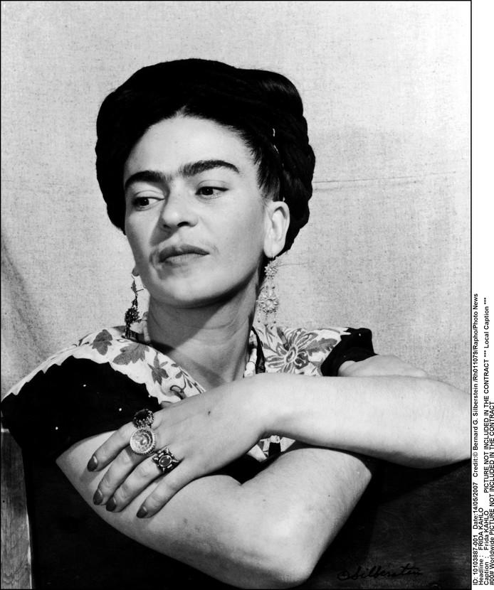 De echte Frida Kahlo, mét unibrow.