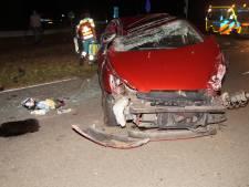 Twee automobilisten gewond bij zware botsing in Oudheusden