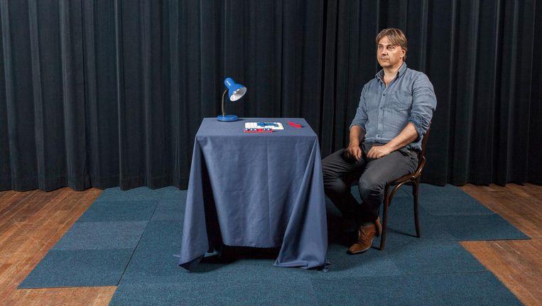 Yoeri Albrecht: 'Principieel vind ik dat je je publiek nooit de mond moet snoeren' Beeld Rogier van 't Slot