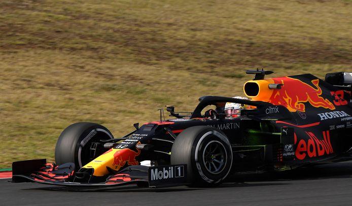 Max Verstappen tijdens de Grote Prijs van Portugal.