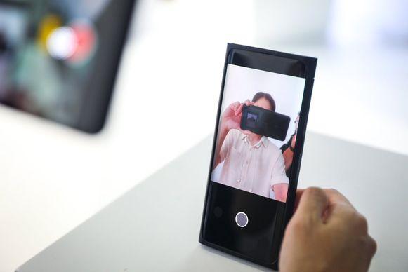 Oppo onthulde de 'under-screen camera' technologie vandaag op MWC Shanghai.