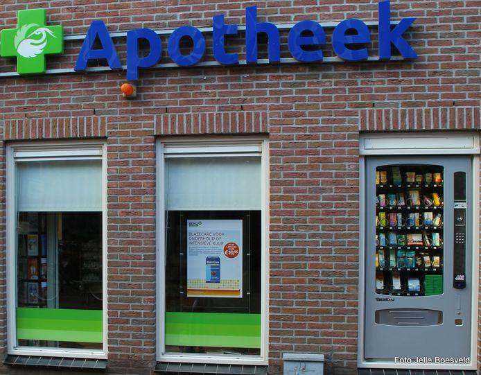 Medicijnautomaat bij apotheek in Eibergen