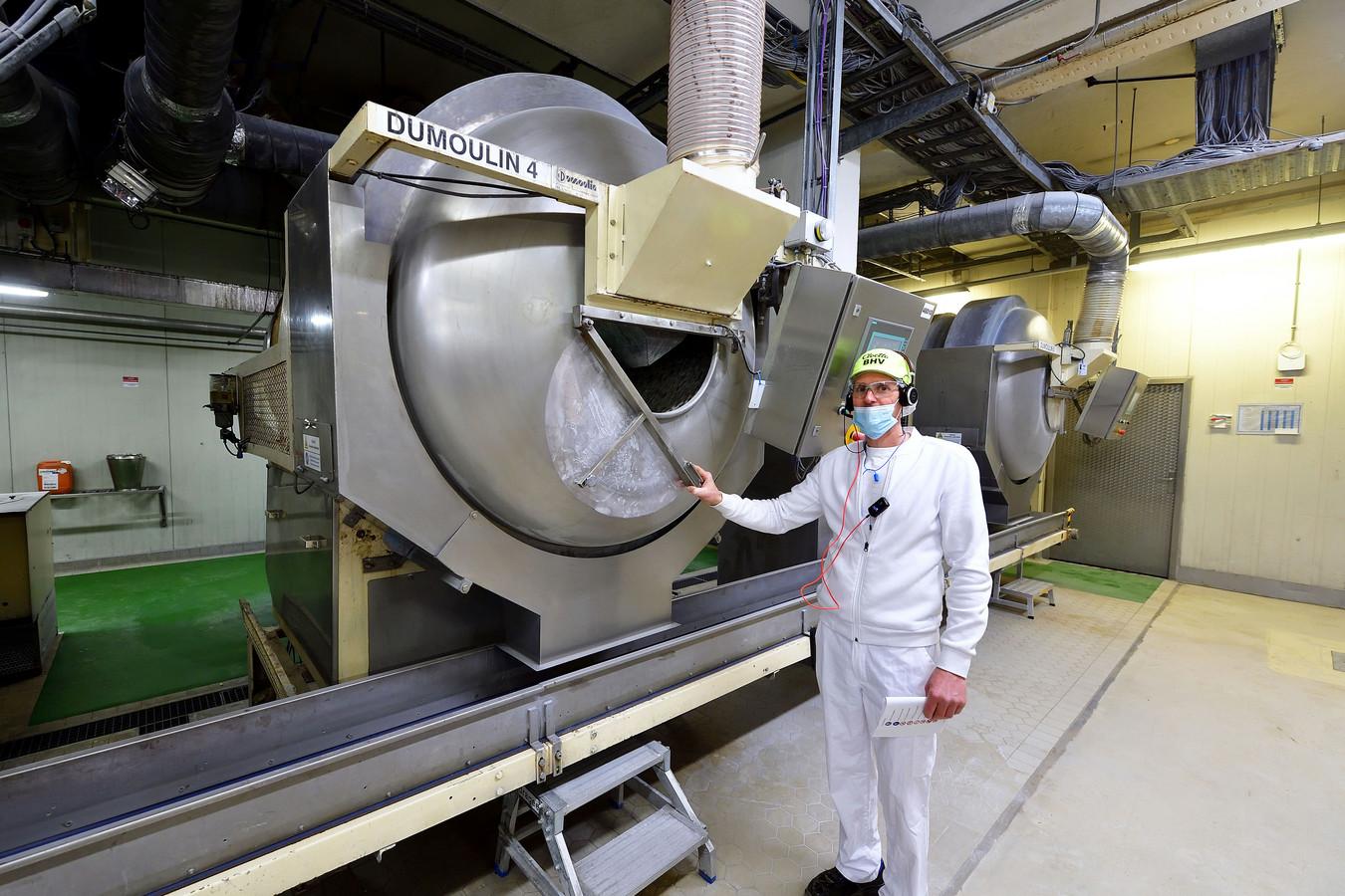 Carlo Simons van snoepfabriek Red Band.