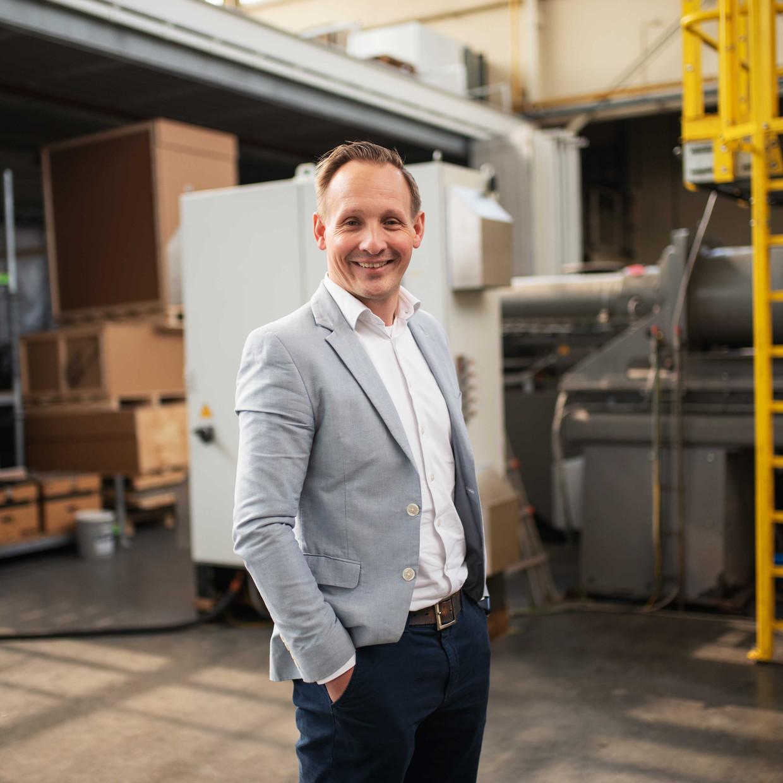 Directeur Jeroen Kusters van Royal Dutch Kusters Engineering Beeld Sabine van Wechem