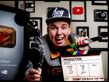 YouTuber Dylan Haegens per helikopter naar Enschede voor première eigen film