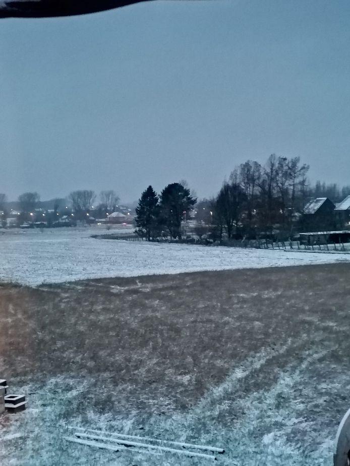 De sneeuw zorgde voor prachtige uitzichten.