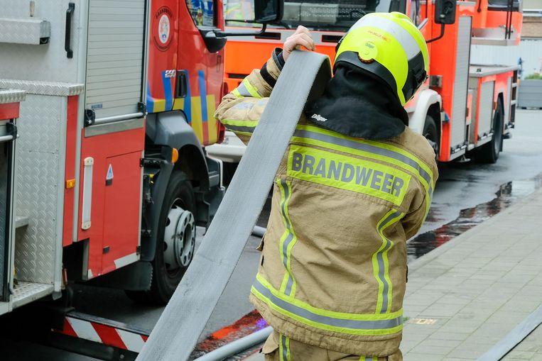 (Illustratiebeeld) De brandweer had geen bluswerk, maar bleef nog om te helpen met de ventilatie van de brouwerij.