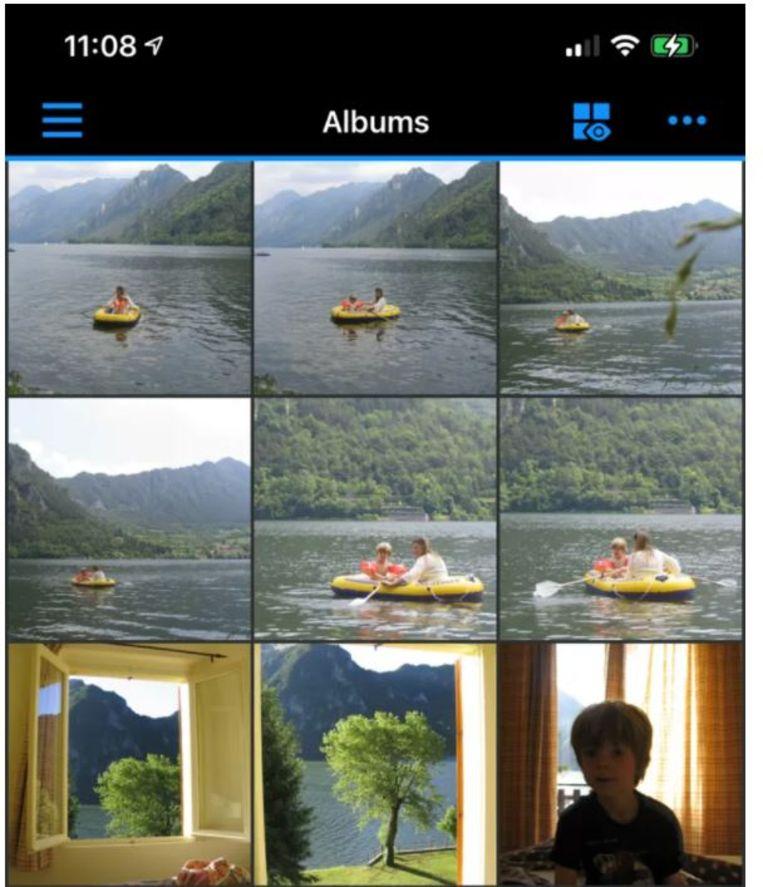 De foto-app van Synology Beeld de Volkskrant
