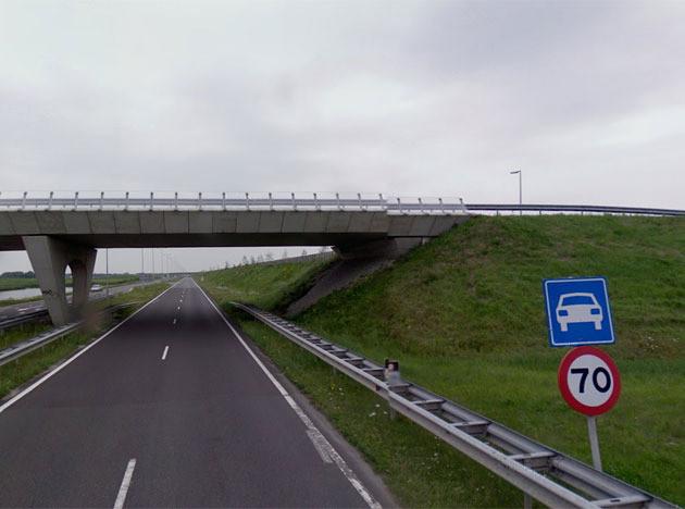 De Drie Merenweg. FOTO GOOGLE