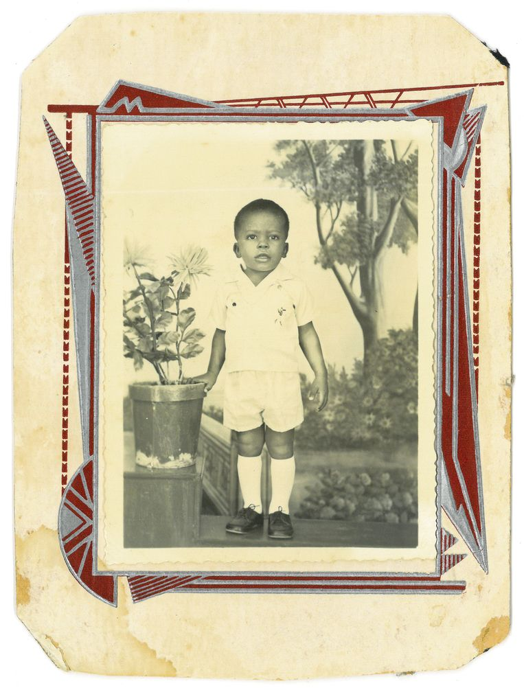 De jonge Stanley Menzo Beeld