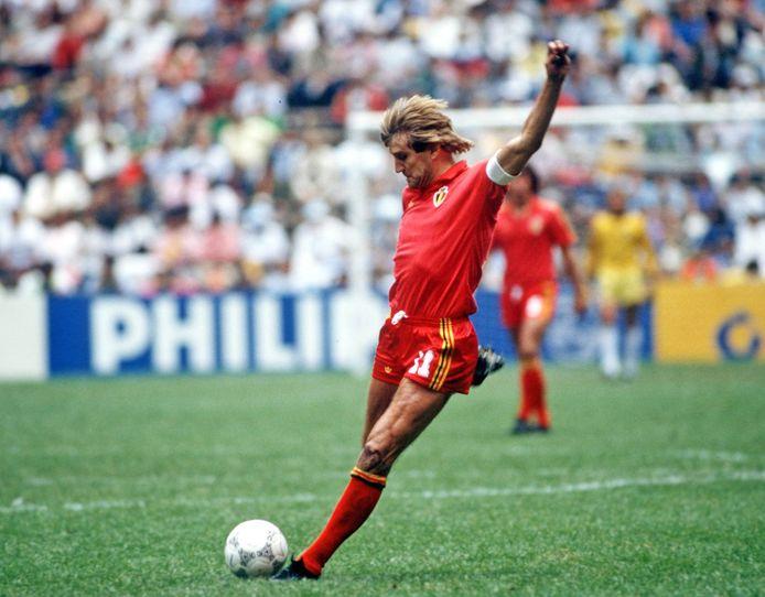Jan Ceulemans tijdens het WK van 1986