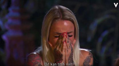 Het eerste kampvuur op 'Temptation Island VIPS' en al tranen bij Pommeline