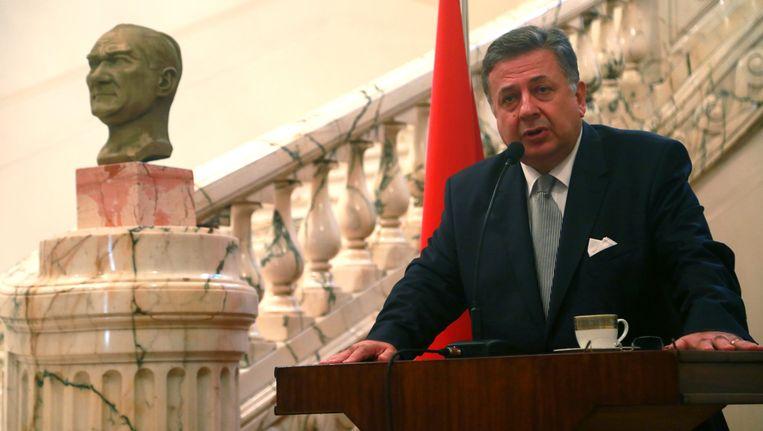 Ambassadeur Huseyin Avni Botsali. Beeld EPA
