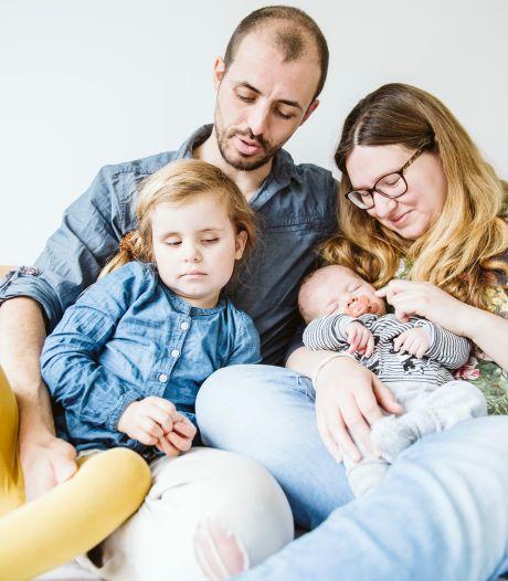 Björns dochtertje Maja (4) is blind: 'Soms zit ze midden in de nacht in haar kamertje te spelen'