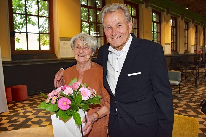 Marie en Jules vieren hun diamanten jubileum.