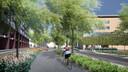 Een sfeerimpressie van de toekomstige Vestdijk.