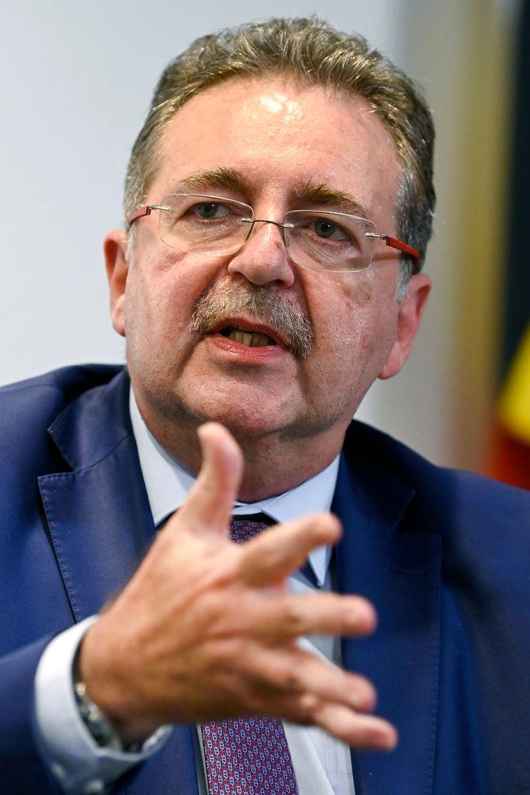 De horecasector verwijt Brussels minister-president Rudi Vervoort (PS) een weinig doortastend optreden. Beeld Photo News