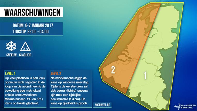 null Beeld Noodweer Benelux