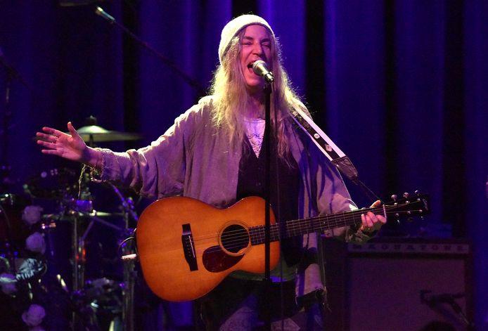 Singer-songwriter Patti Smith treedt op tijdens het jubileumweekend in TivoliVredenburg.