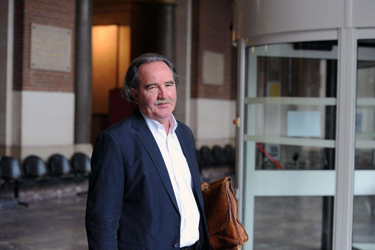 Advocaat Marc Decat op de Leuvense rechtbank