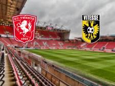 LIVE | FC Twente jaagt tegen Vitesse op aansluiting met middenmoot