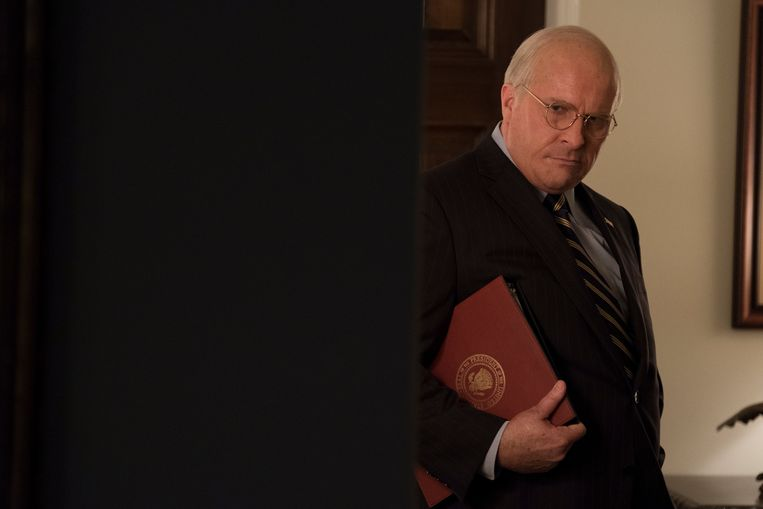 Christian Bale als Dick Cheney in Vice. Beeld Matt Kennedy / Annapurna Pictures