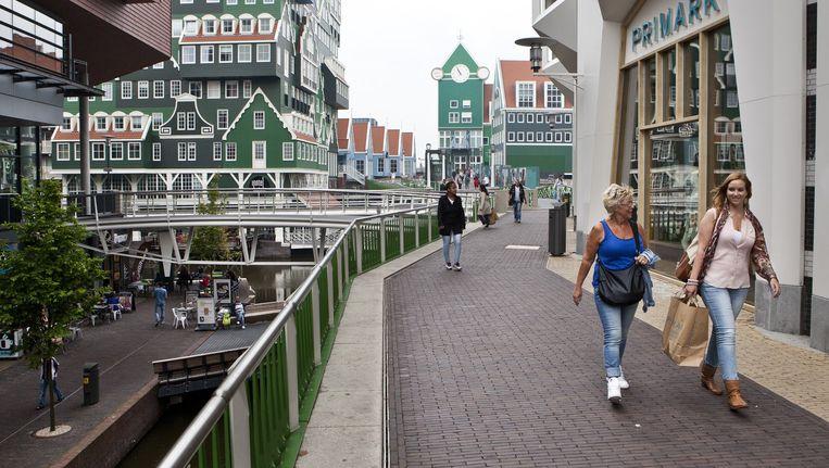 Met de 'kunsthal' wil de gemeente Zaanstad meer toeristen verleiden Zaandam te bezoeken. Beeld Floris Lok