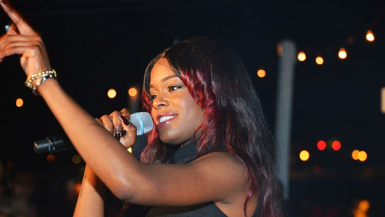 Van hiphopprinses Azealia Banks verwachten critici veel in 2013. Beeld GETTY