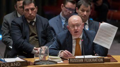 Rusland schreeuwt onschuld uit in Veiligheidsraad om Skripal-zaak - Westen steunt Verenigd Koninkrijk